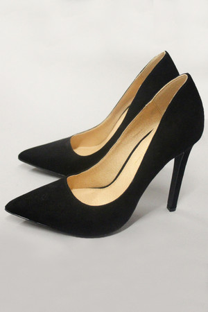 The Audrey Heels Black