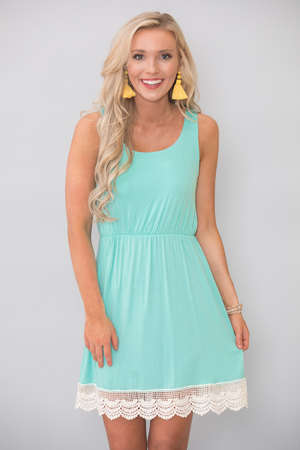Bound To You Mint Dress