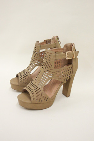 The Bella Heels Brown