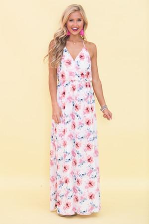 Floral Fascination Maxi Dress