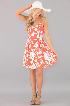 Summer Fantasy Floral Dress
