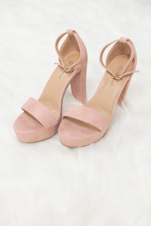 The Christina Heels Blush