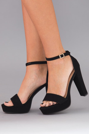 The Christina Heels Black