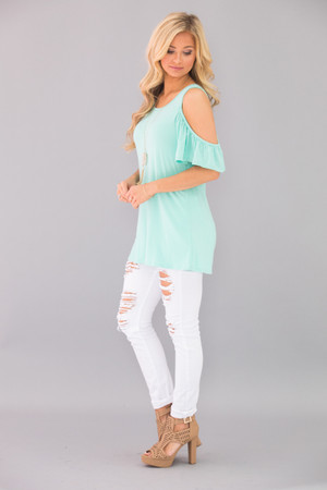 Follow This Love Blouse Mint