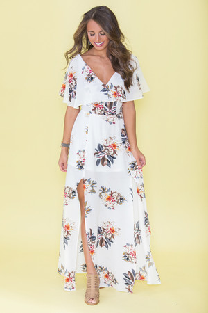 Live My Own Dream Floral Maxi Dress