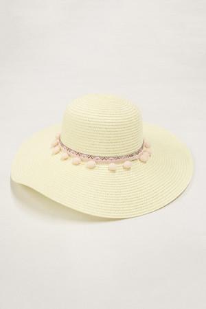 Cabana Bay Sunshine Sun Hat Cream