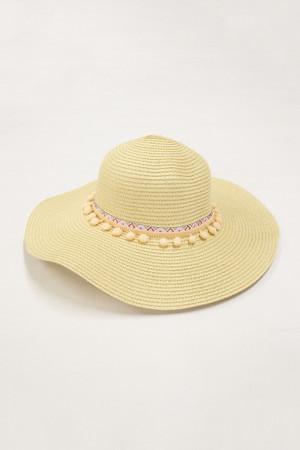Cabana Bay Sunshine Sun Hat Beige