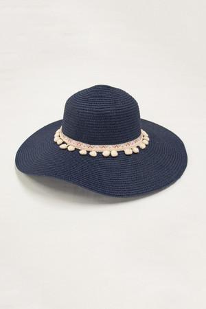 Cabana Bay Sunshine Sun Hat Navy