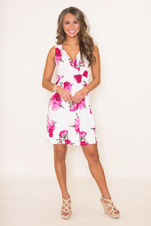 My Happily Ever After Floral Dress