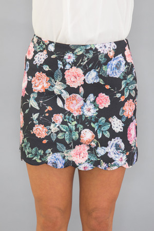 My Life Story Floral Skirt