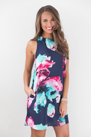 Dream Of Me Floral Dress