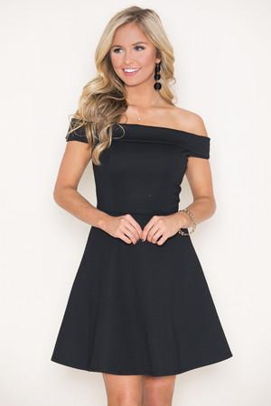 You've Got My Love Dress Black
