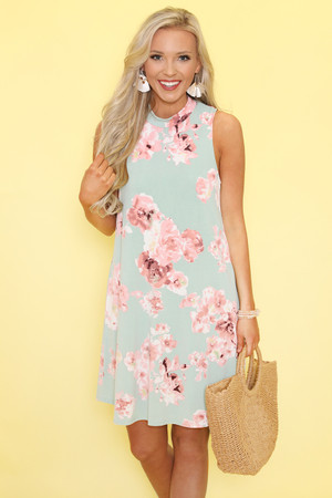 All In My Dreams Floral Dress