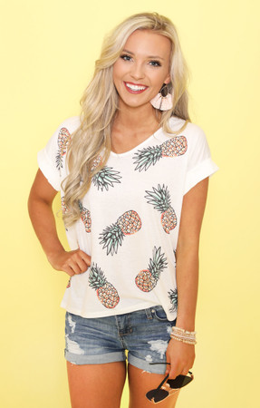 Fresh And Fineapple Blouse