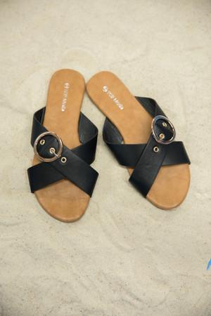 The Chelsea Sandals Black