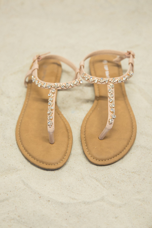 The Lillie Sandals Blush