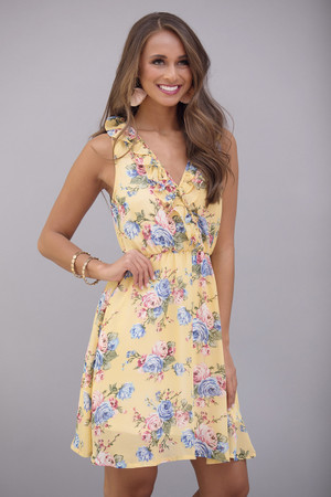 Bahama Bliss Floral Dress
