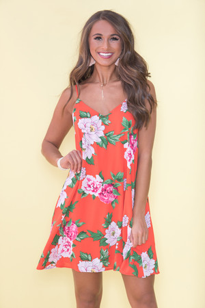 After Sunset Floral Dress