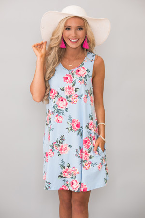 Anything For My Love Floral Dress