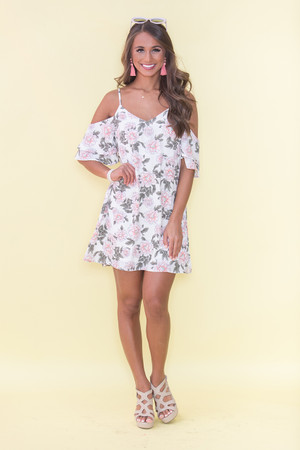 Fell So Quickly For You Floral Dress