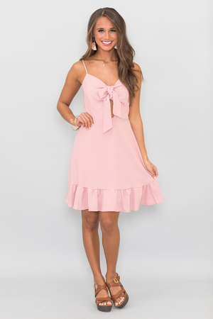 Believed In Your Heart Dress Mauve
