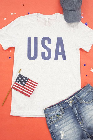 Athletic USA Graphic Tee