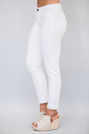 White Skinny Jeggings
