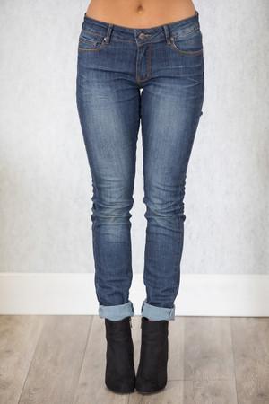 The Lola Dark Wash Skinny Jeans