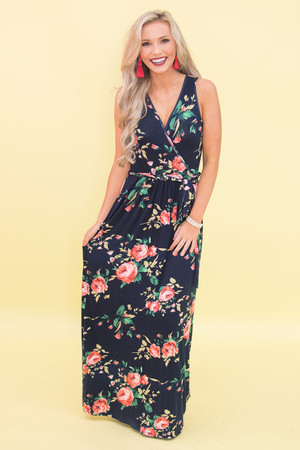 Give Me A Reason Floral Maxi