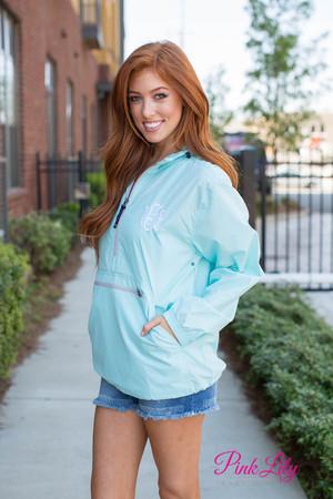 Personalized New Englander Pullover Aqua