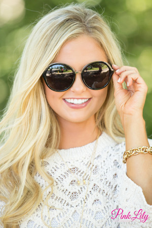 It's Our Time Sunglasses Black