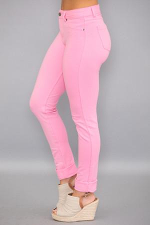 Light Pink Skinny Jeggings