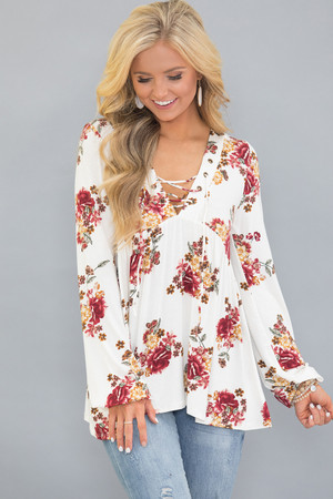 My Wish Came True Floral Tunic