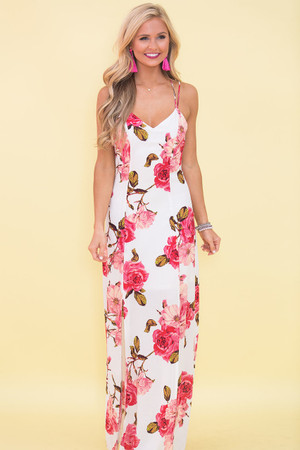 More Than A Feeling Floral Maxi Dress