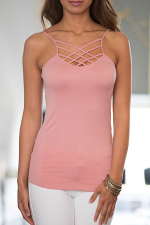 Infinite Beauty  Layering Cami Mauve