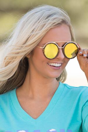Something To Talk About Sunglasses Yellow/Tortoiseshell