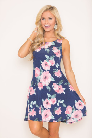 Remember This Love Floral Dress