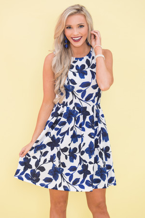 Falling Deeper In Love With You Floral Dress