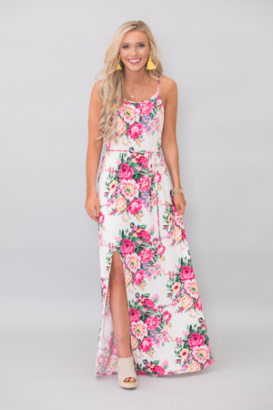 Everything About You Floral Maxi Dress