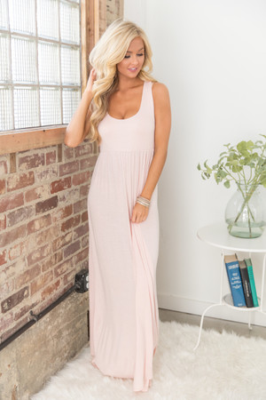 The Thought Of You Maxi Blush