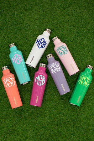 Monogrammed Corkcicle Canteen 16oz
