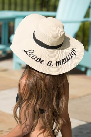 Leave a Message Sun Hat