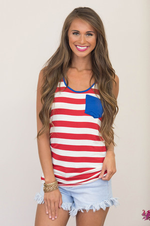 American At Heart Pocket Tank