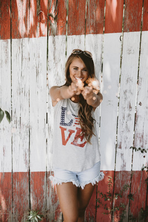 She Loves The Stars And Stripes Tank