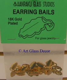 AANRAKU 18K Gold Plated Earring Jewelry Bails