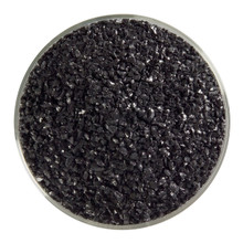 Bullseye Glass Black Opal, Frit, Medium, 5 oz jar 000100-0002-F-OZ05