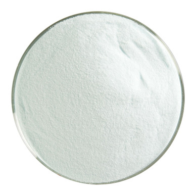 Bullseye Glass Aqua Blue Transparent Tint, Frit, Powder, 5 oz jar 001808-0008-F-OZ05