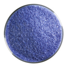 Bullseye Glass Cobalt Blue Opal, Frit, Fine, 1 lb jar 000114-0001-F-P001