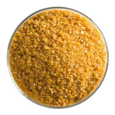 Bullseye Glass Butterscotch Opal, Frit, Medium, 1 lb jar 000337-0002-F-P001