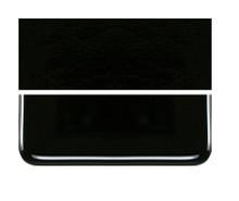 Bullseye Glass Black, Dbl-rolled 000100-0030-F-1010